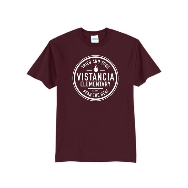 Vistancia Elementary Fear The Heat Tee (one side)