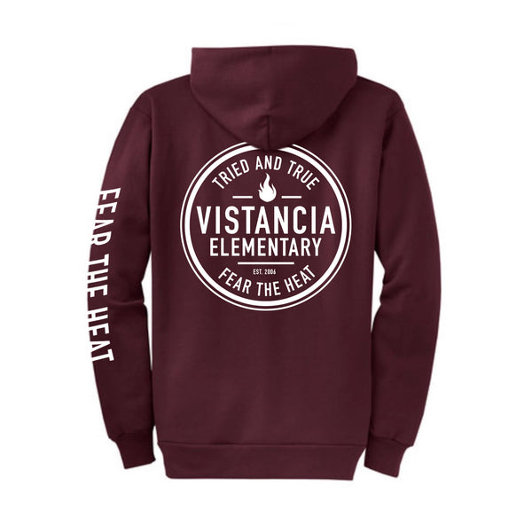 Vistancia Elementary Fear The Heat Full Zip Sweatshirt