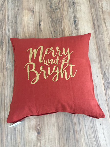 Merry and Bright Pillowcase