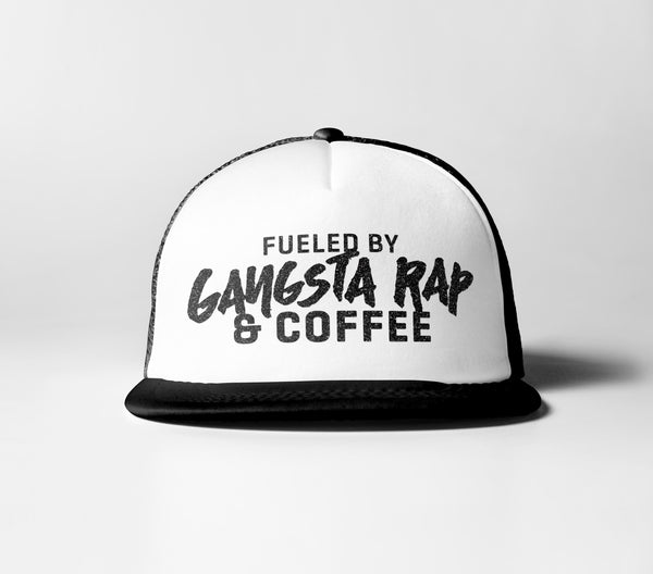 Fueled By Gangsta Rap & Coffee