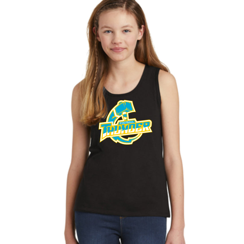 Girls Thunder Logo Tank Top