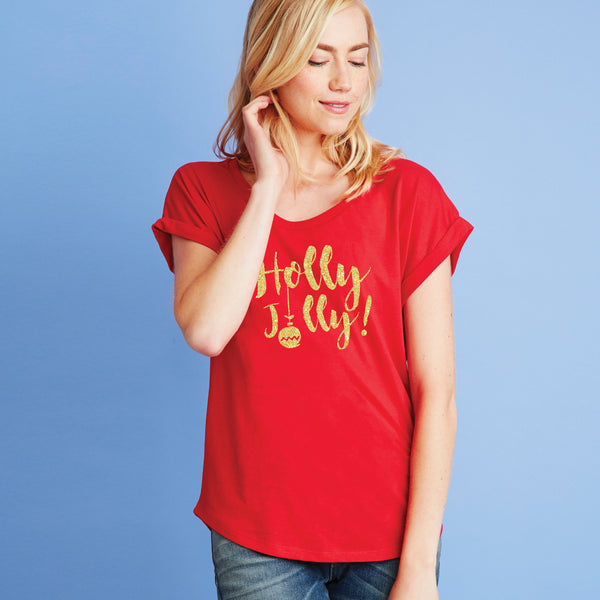 Holly Jolly Dolman Tee