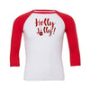 Holly Jolly Baseball Tee