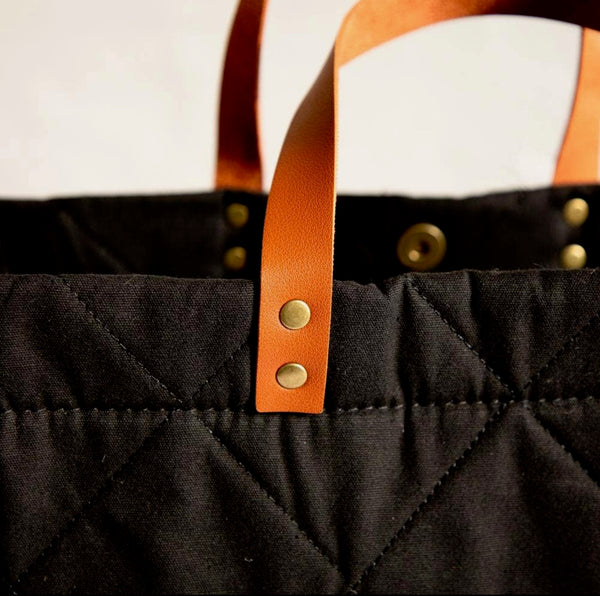 Quilted Crossbody Tote