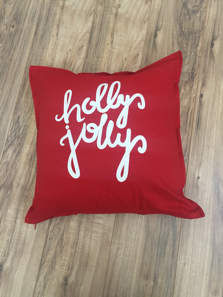 Holly Jolly Pillowcase