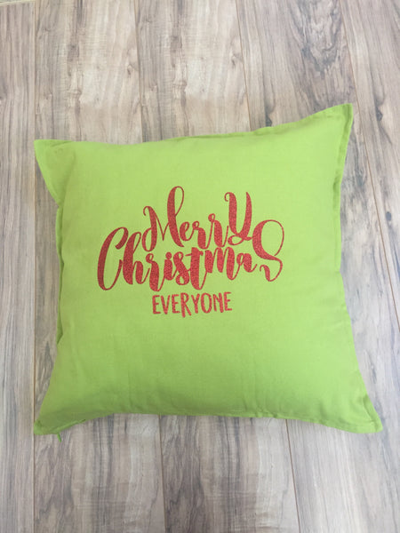 Merry Christmas Everyone Pillowcase