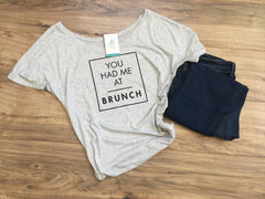 Brunch Slouchy Tee