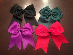 Custom Solid Cheer Hair Bow