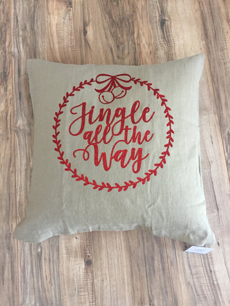 Jingle All The Way Pillowcase