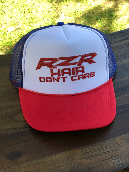 Razor Hair Dont Care Trucker Hat
