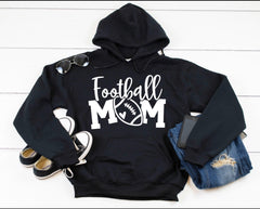 Football Mom Hooded Sweatshirt
