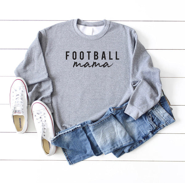 Football Mom Unisex Crewneck Sweatshirt