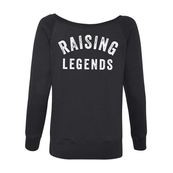 Raising Legends off the shoulder sweatshirt