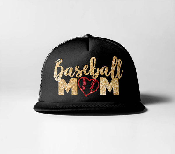 Baseball Mom (Heart)