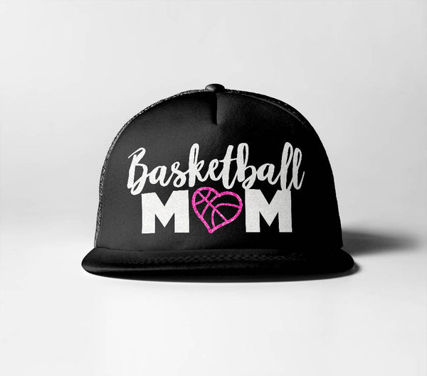 Basketball Mom (Heart)