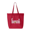 Heartbreakers Large Zipper Tote Bag
