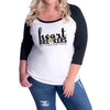 Heartbreakers Curvy Baseball Tee
