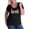 Heartbreakers Curvy Scoop Neck Tee