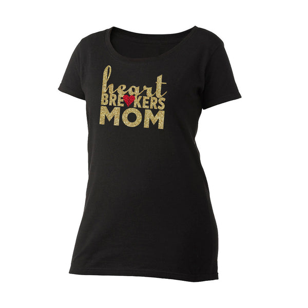 Heartbreakers Mom Scoop Neck Tee