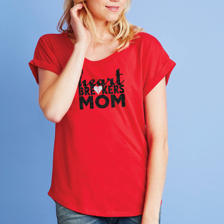 Heartbreakers Mom Dolman Tee