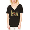 Heartbreakers Mom V-Neck Slouchy Tee