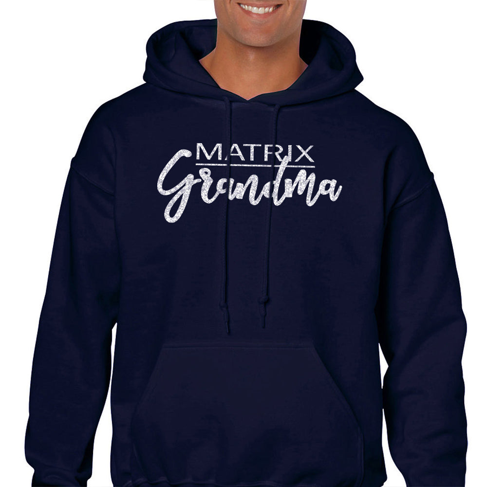 Matrix Grandma Unisex Hooded Sweatshirt