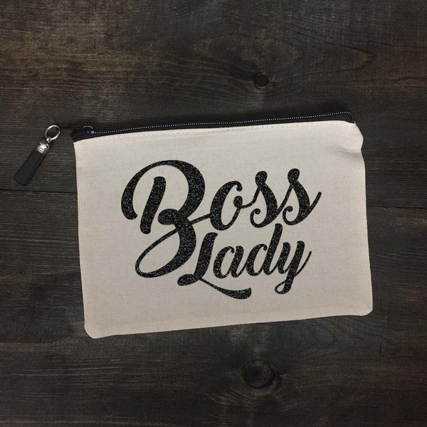 Boss Lady Makeup Bag