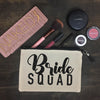 Bride Squad Makeup Bag