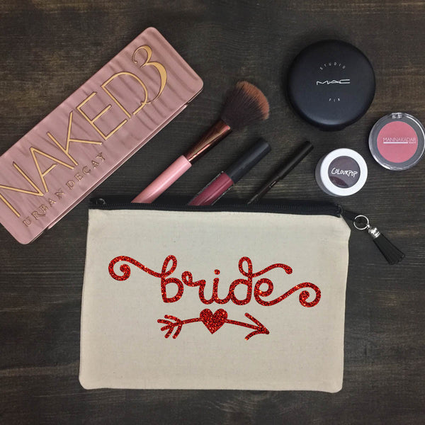 Bride (arrow) Makeup Bag