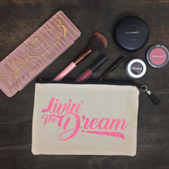 Livin' The Dream Makeup Bag