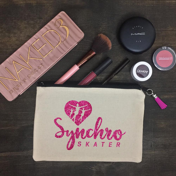 Synchro Skater Makeup Bag