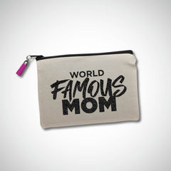 World Famous Mom Makeup Bag