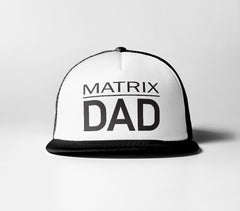 Matrix Dad Trucker Hat