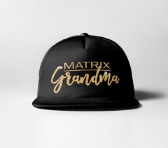 Matrix Grandma Trucker Hat