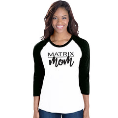 Matrix Mom Baseball Tee