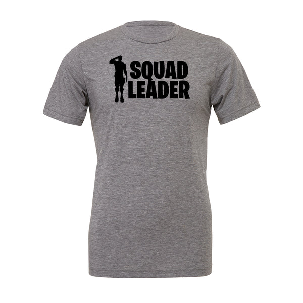 Squad Leader Tee. Show off your love for Fortnite battle royal with these customizable tees. Whether your favorite Fortnite move is Flossin or Breakin we have you covered! Choose your tee color, size, art, and your art color to make this epic tee yours today.