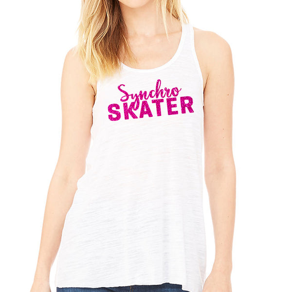 Synchronized Skater Racerback Youth