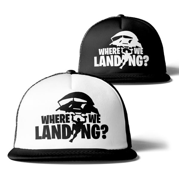 Where We Landing Trucker