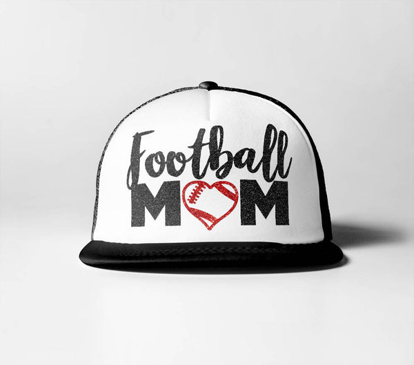 Football Mom (Heart)