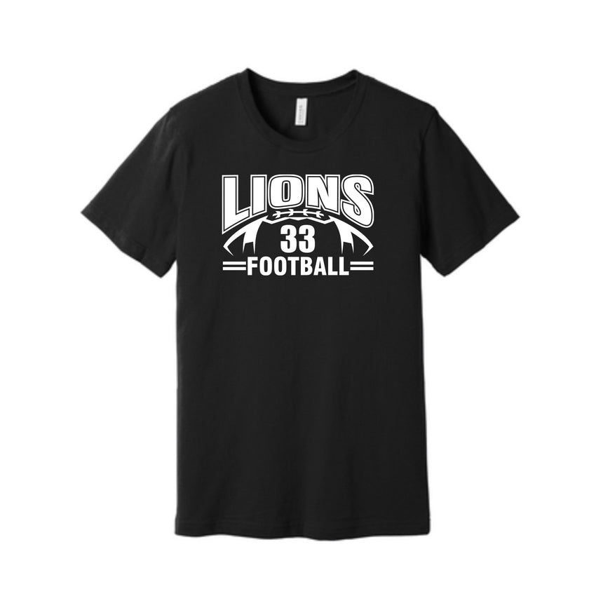 Lions Football Unisex Crewneck Neck
