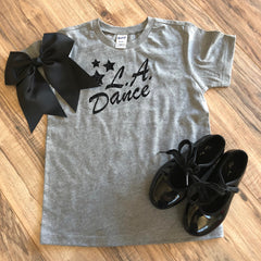 LA Dance Youth unisex tee. This super soft tee is the perfect tee to show off your LA Dance support!
