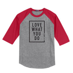 LA Dance Love What You Do Unisex Baseball Tee