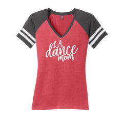 LA Dance Mom V Neck Competition Tee