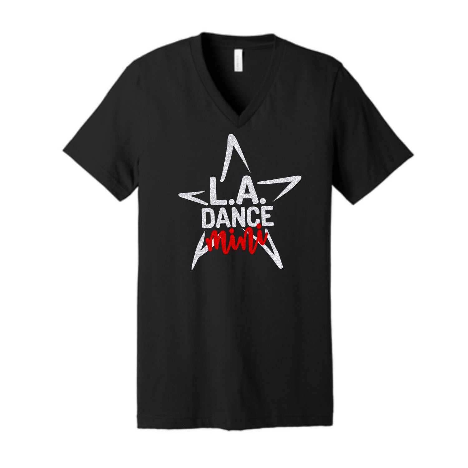 LA Dance Mini Team Shirt Unisex V Neck Tee