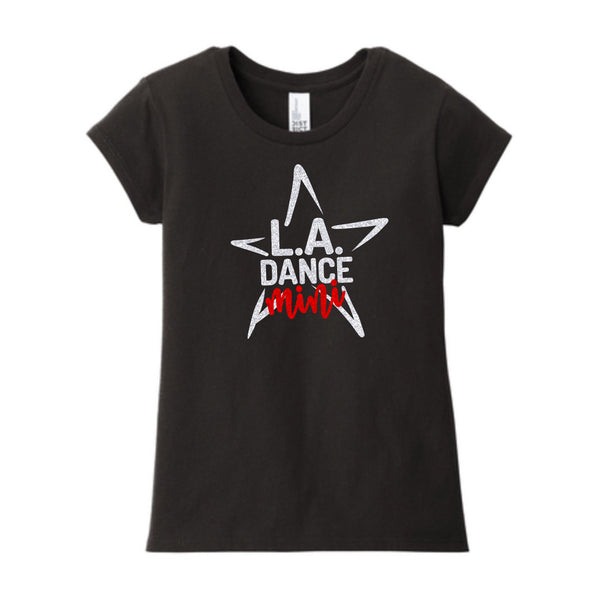 LA Dance Mini Team Girls Crew Neck Tee