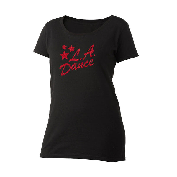 LA Dance Scoop Neck Tee