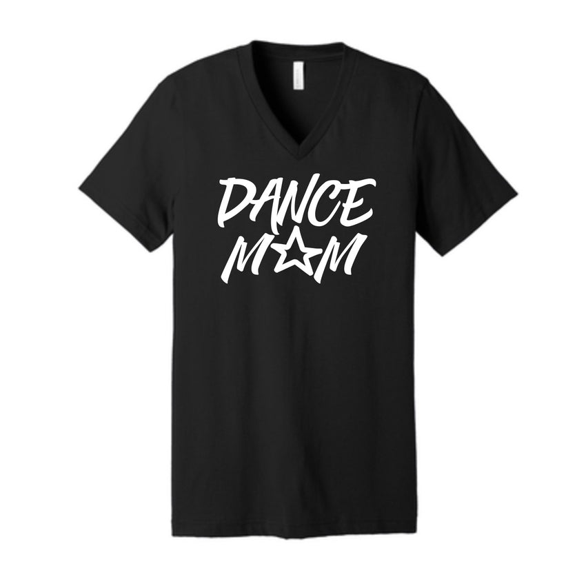 Dance Mom Unisex V Neck Tee