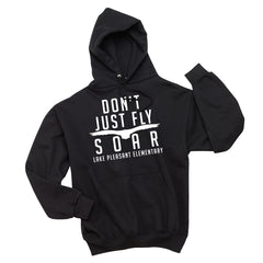 Black Youth Pullover Hooded Sweatshirt (7 different design options)