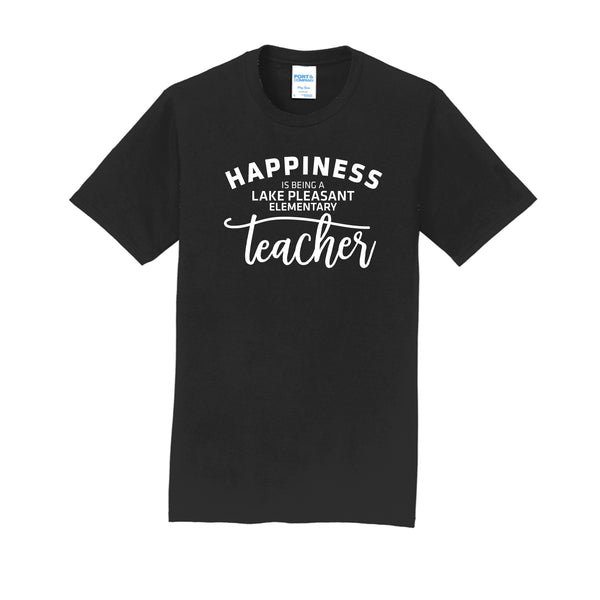 Teacher Adult Unisex Black Performance Blend Unisex Tee (4 different design options)
