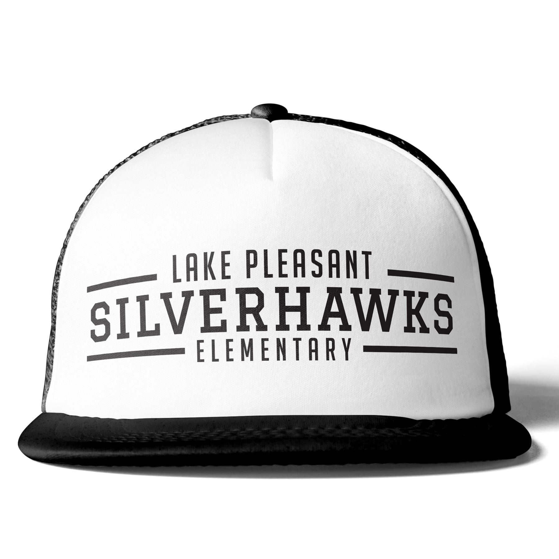 Black and White Trucker Hat (6 different design options)